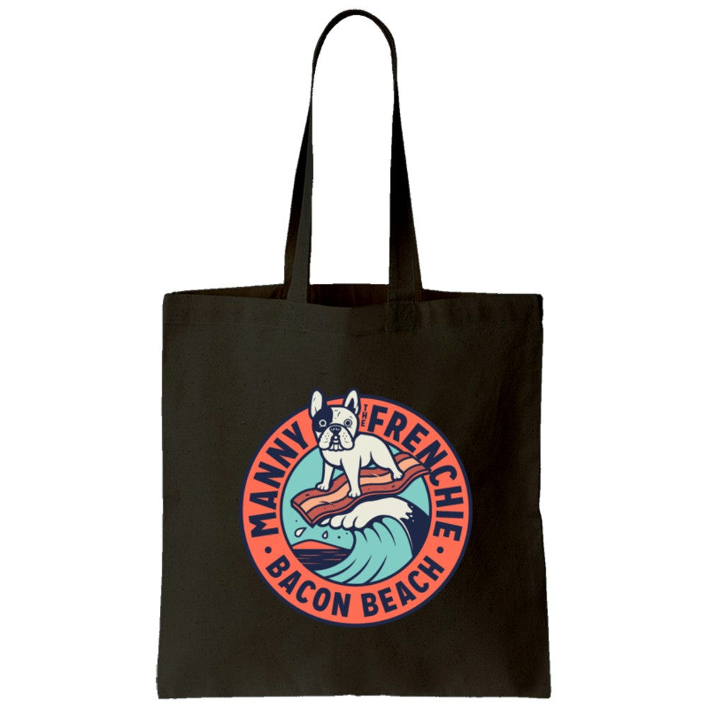 Bacon Beach Tote Bag (color)