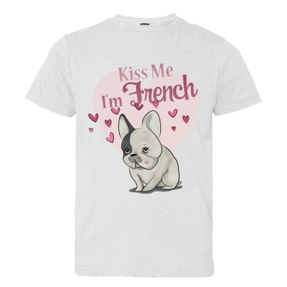 Kiss me I'm French (Youth/Child sizes)