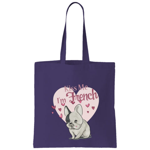 Kiss me I'm French Tote Bag