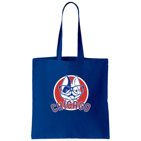 Animated Manny + Chicago Cubs Tote Bag