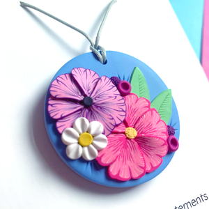 Floral Affair Circle Necklace
