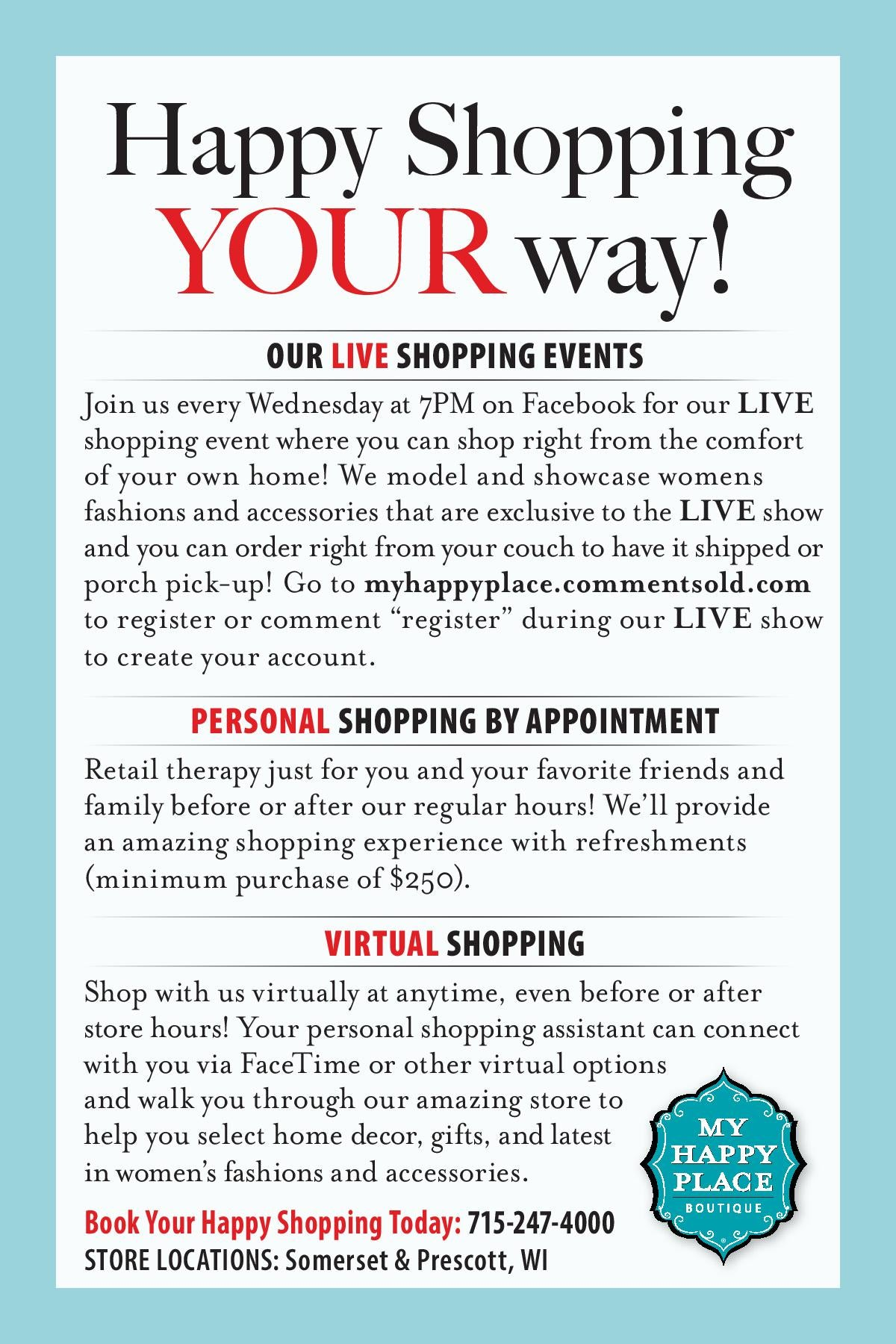 How to Shop Your Way