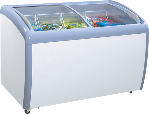 Display Chest Freezer - 9 Cubic Ft.