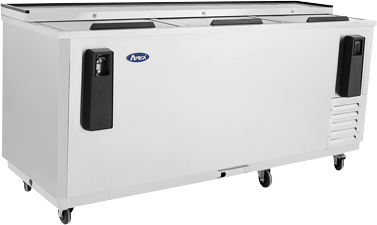 Back Bar Cooler - Three Top Door 80""