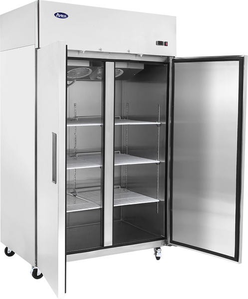 Top Mount Two Door Reach-In Refrigerator