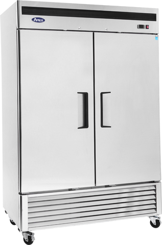 Bottom Mount Two Door Reach-In Refrigerator