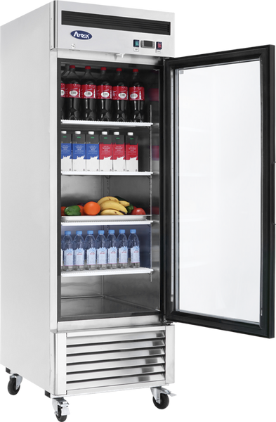 Single Glass Door Refrigerated Merchandiser