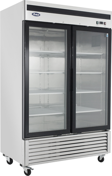 Double Glass Door Freezer