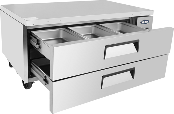 Double Drawer Refrigerated Chef Base