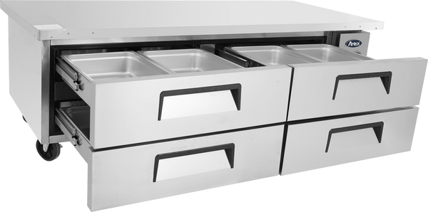 Four Drawer Refrigerated Chef Base