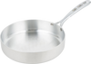 Straight Sided Aluminum Saute Pan - 3 qt