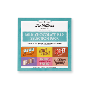 MILK CHOCOLATE BAR COMBINATION PACK - de villiers chocolate us