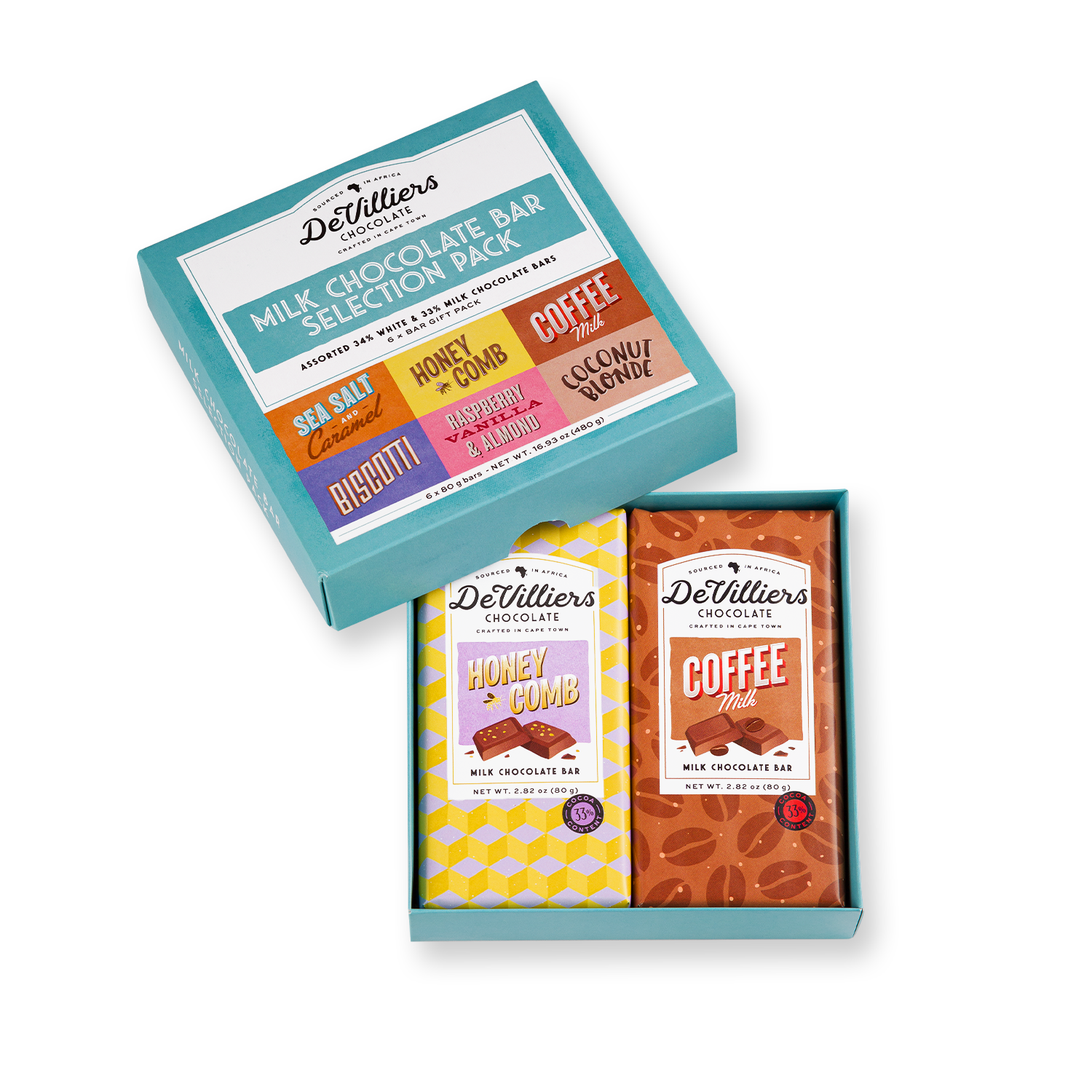 Combo Pack Milk - de villiers chocolate us