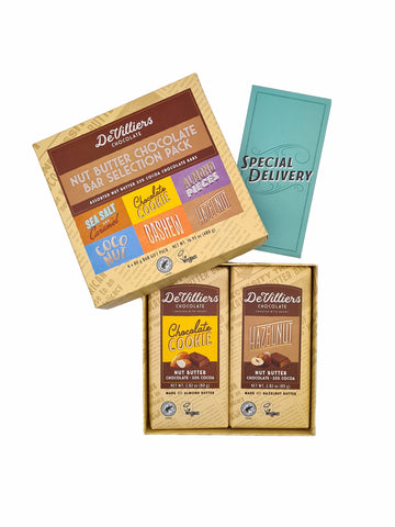 NUT BUTTER CHOCOLATE BAR COMBINATION PACK