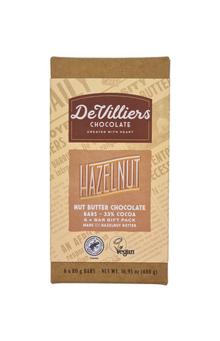 HAZELNUT NUT BUTTER CHOCOLATE BAR COMBINATION PACK