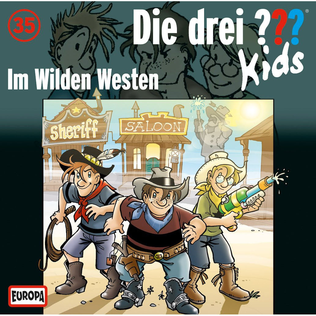 CD ??? Kids 35 Im Wilden Westen