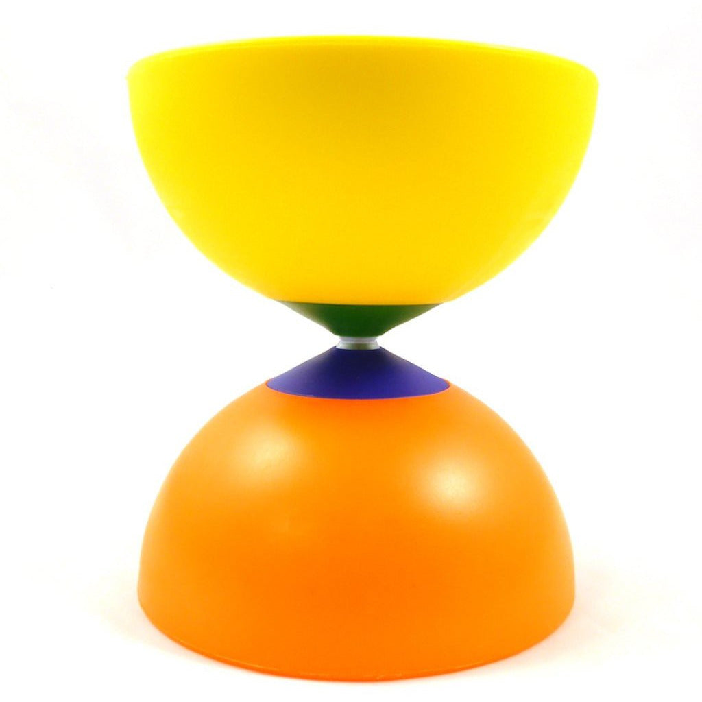 Diabolo Millenium Rainbow | orange/gelb | 165gr. Ø102,00mm H115mm