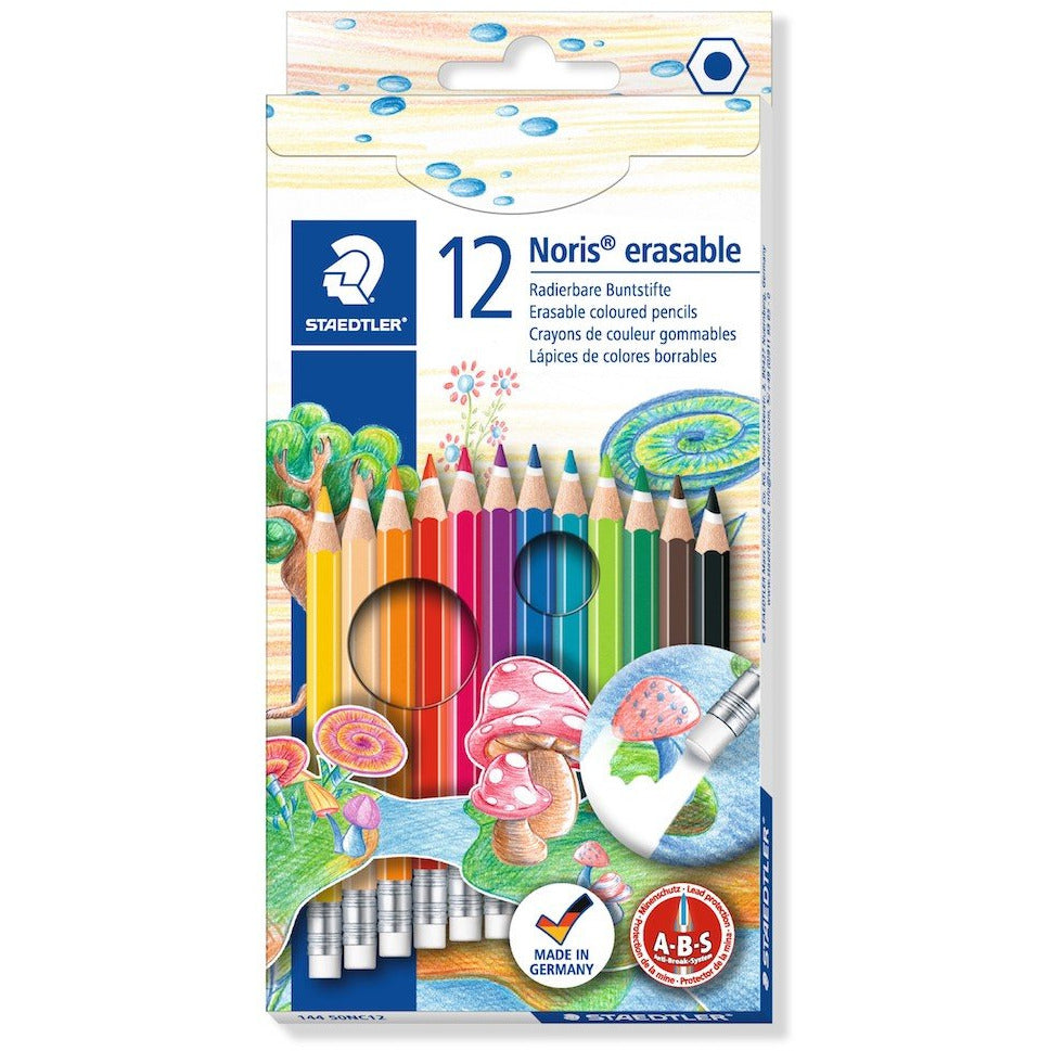 Buntstift Noris erasable 100% PEFC