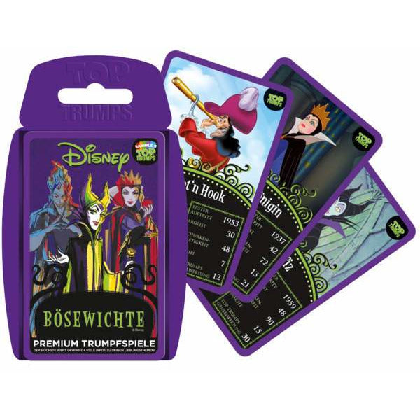 Top Trumps - Disney Bösewichte