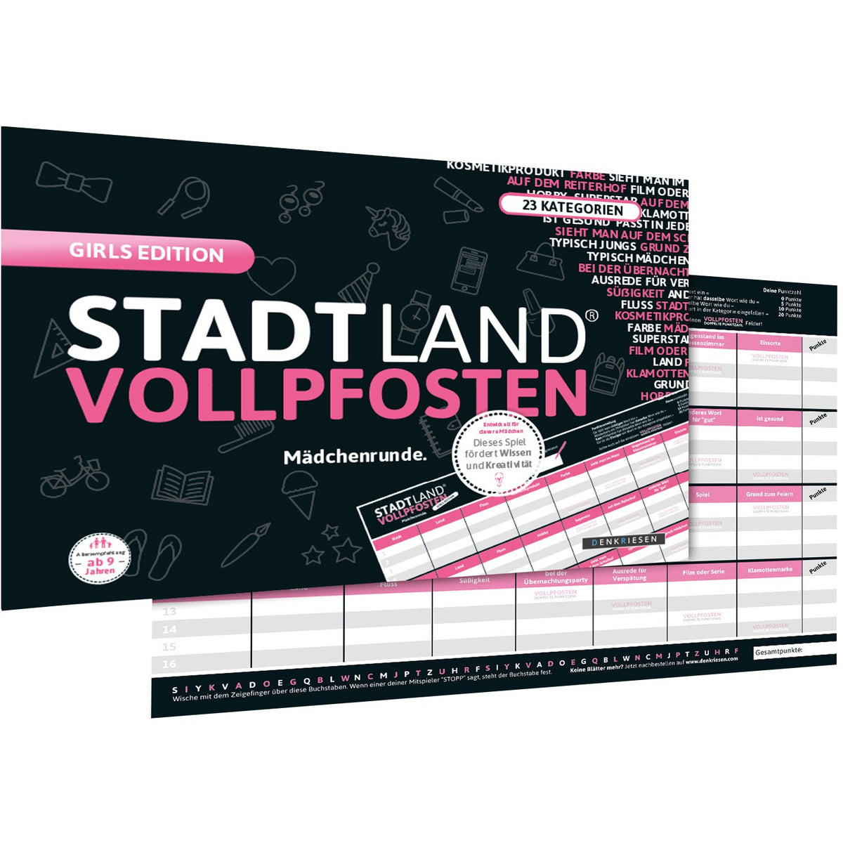 StadtLandVollpfosten - Girls Edition