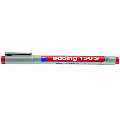 Non-permanent Pen edding 150 S, 0,3 mm, rot