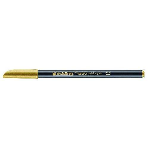 Fasermaler 1200 metallic colourpen, 1 - 3 mm, gold