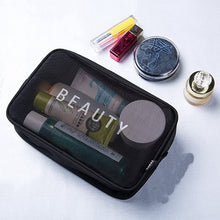 Load image into Gallery viewer, Transparent Makeup Case Organizer