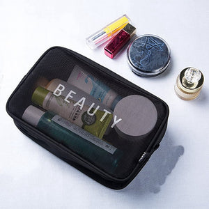 Transparent Makeup Case Organizer