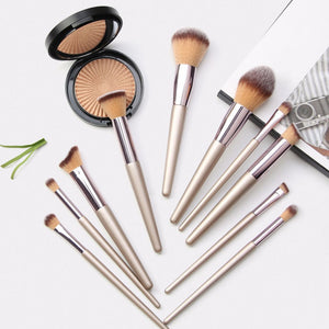 The Sophie Makeup Brush Set (10 piece set)