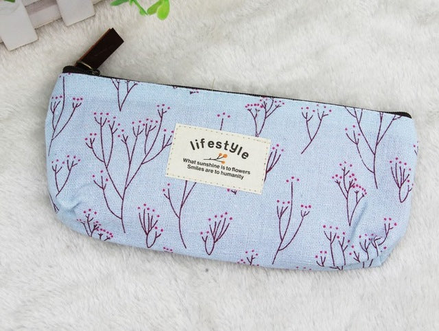 Canvas Cosmetic Bag 2