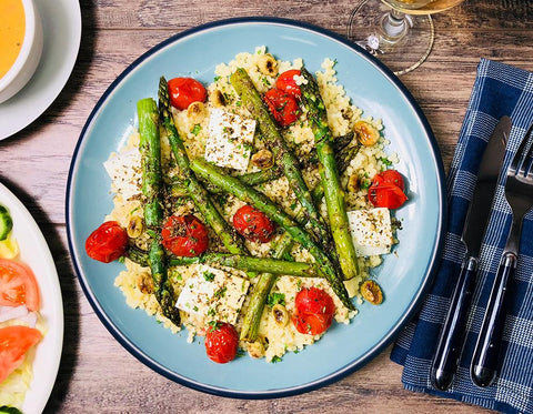 2019-Roasted Summer Vegetables With Couscous (B3)