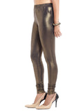 Golden Ankle Length Leggings