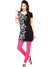 Ira Soleil Embellished Print Above Knew Length kurti