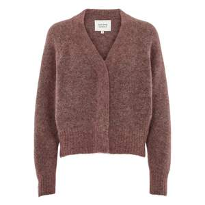 Cardigan Brook Knit Boxy Mohair Mix - Gluecksboutique®