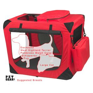 Pet Gear Generation II Portable Soft Crate Pad Treat Bag - PG5526RP