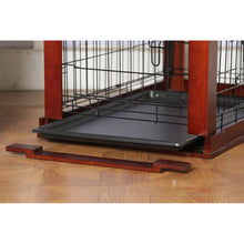 Load image into Gallery viewer, Merry Products Cage with Crate Cover, Mohogany, Small - Zoovilla MPSC001