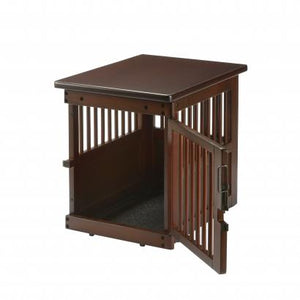 Richell Wooden End Table Crate Small