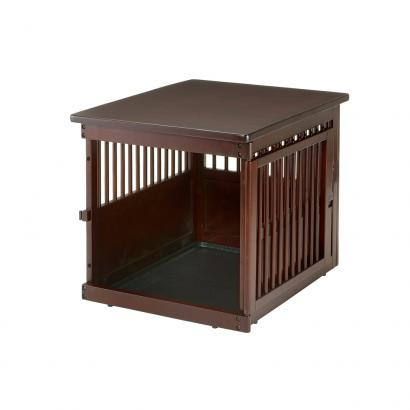 Richelle Wooden End Table Pet Crate Medium