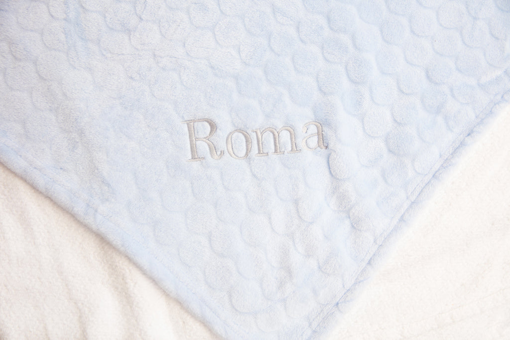 Personalised Circle Snuggle Blanket