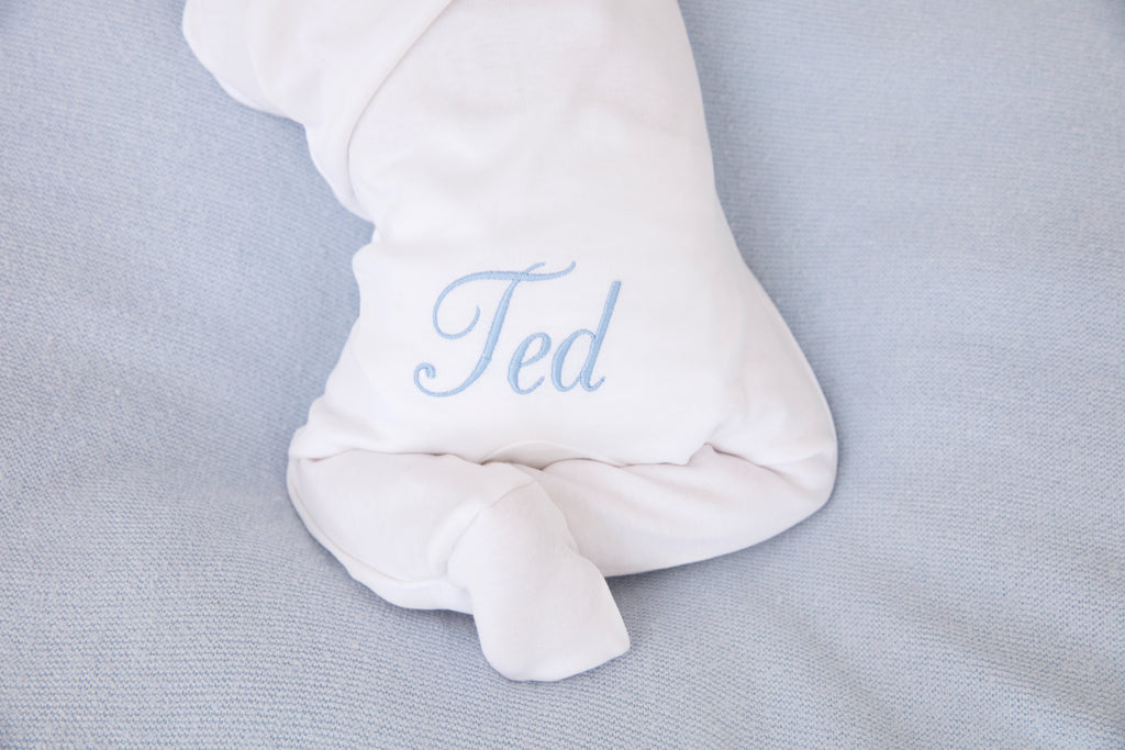 Personalised White Babygrow