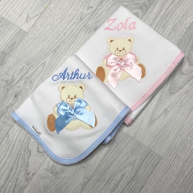 Personalised Teddy Muslin
