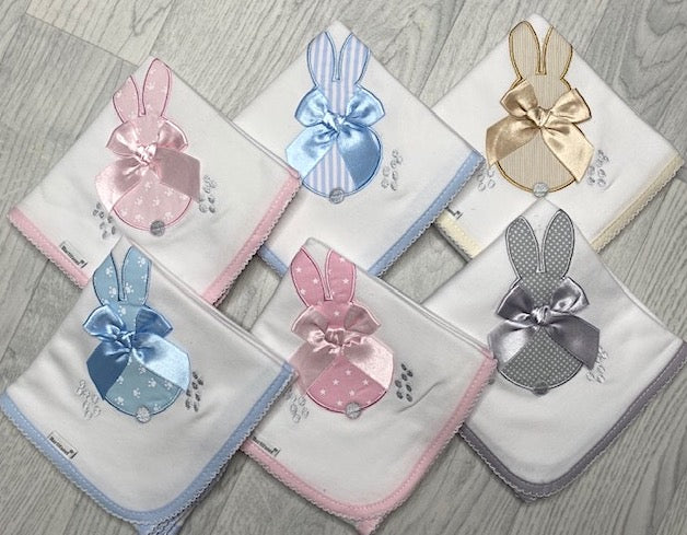 Personalised Bunny Muslin