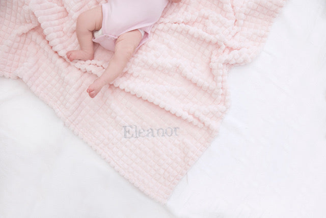 Personalised Square snuggle blanket