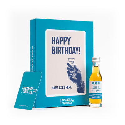 Raise a glass Birthday Card