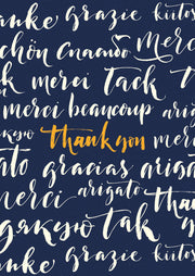 """Thank you"" languages card"