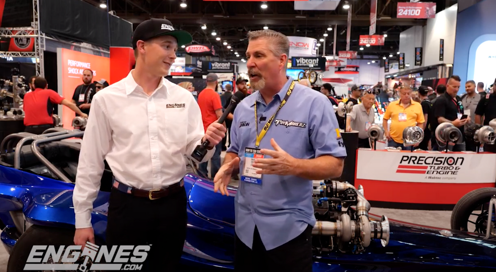 Cabot Bigham gets David Ankin excited at SEMA 2019