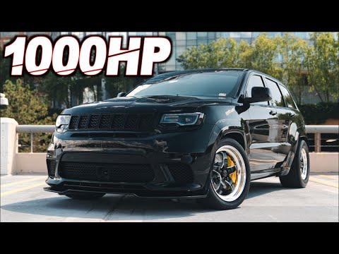 "1000HP Jeep Trackhawk 400ci Stroker ""The Neck Breaker"" (0-60MPH 2.3s)"