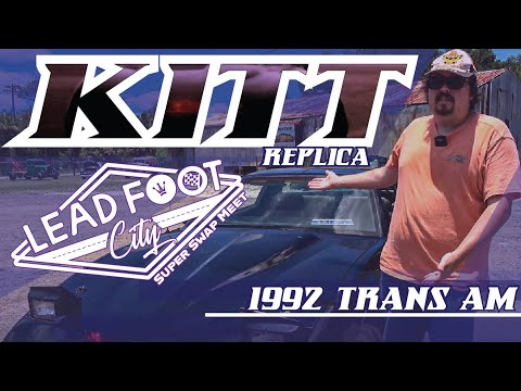1992 KITT Replica Trans Am at Lead Foot City