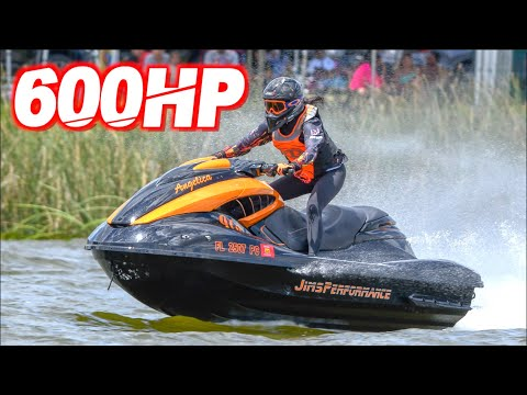 600HP Jetski on 40PSI Pulls 1.7G-Force