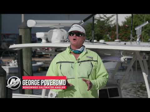 Docking with George Poveromo: Mercury Marine Joystick Piloting for Outboards